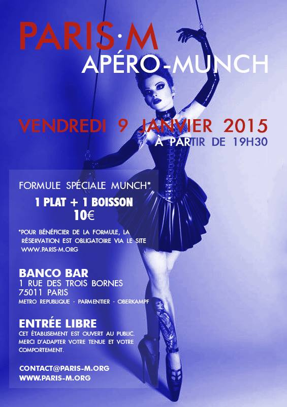 vendredi 9 janvier 2015 munch ap rencontre n 34 paris m. Black Bedroom Furniture Sets. Home Design Ideas