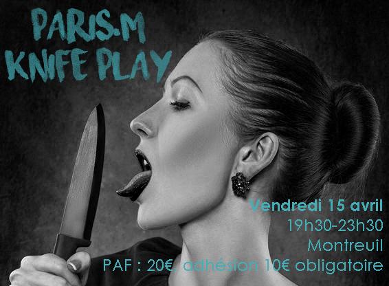 Knife Play Atelier Paris M avril 2016